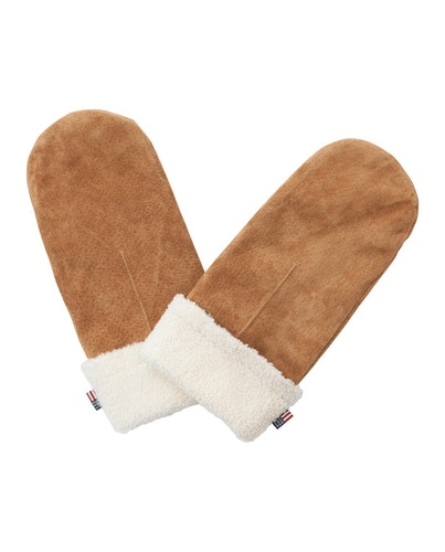 LEXINGTON - Dunamere Women's Suede Gloves Brun