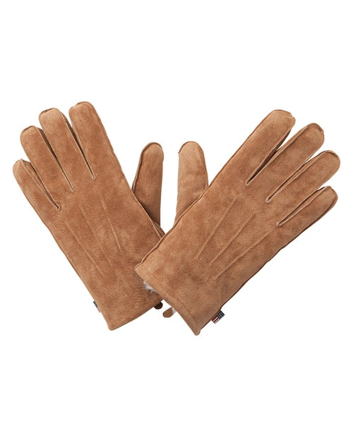 LEXINGTON - Maine Men's Suede Gloves Brun