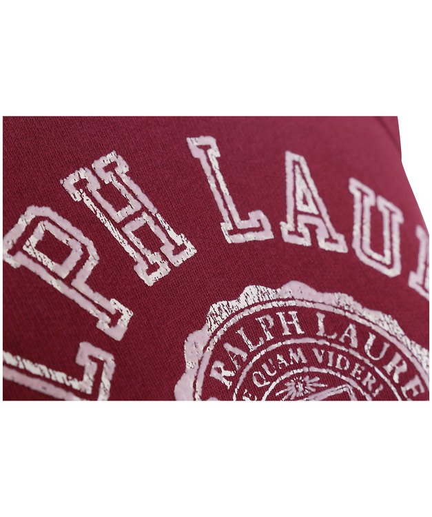 POLO RALPH LAUREN - College Long Sleeve Knit Röd