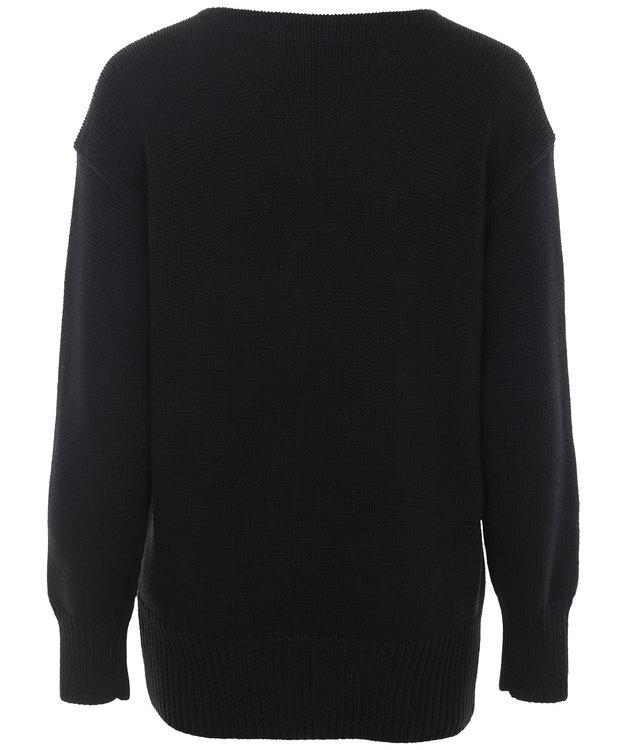 POLO RALPH LAUREN - Long Sleeve RL Sweater Svart