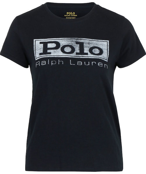 POLO RALPH LAUREN - Short Sleeve Polo Tee Svart