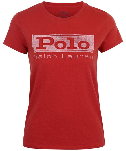 POLO RALPH LAUREN - Short Sleeve Polo Tee Röd