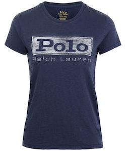 POLO RALPH LAUREN - Short Sleeve Polo Tee Blå