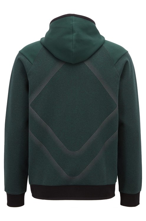 1745fa3574 HUGO BOSS - Slim Fit Hoodie Selnio Green - Home of Brands
