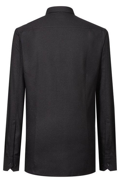 HUGO BOSS - Extra Slim Fit Shirt Elisha Svart