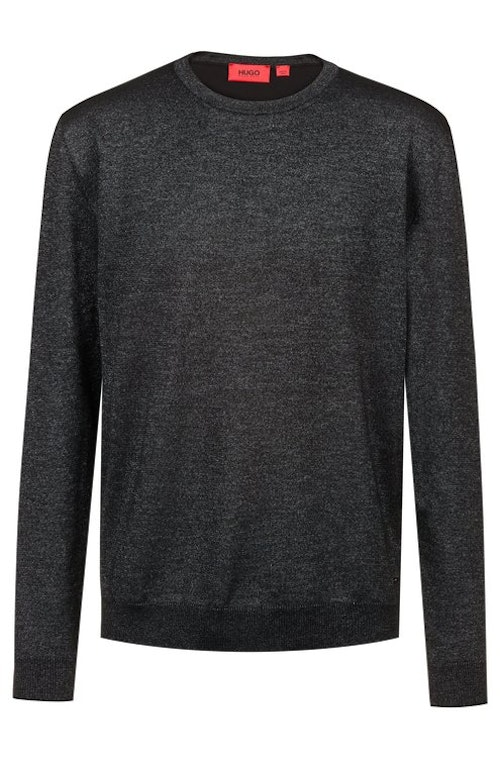 HUGO BOSS - Salexon Shiny Sweatshirt Svart