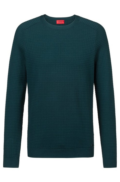 HUGO BOSS - Sgrid Crewneck Sweatshirt Grön