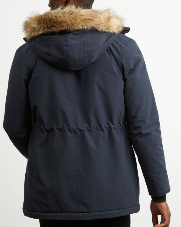 LYLE & SCOTT - Winter Weight Parka Blå