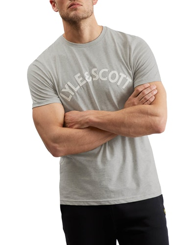 LYLE & SCOTT - Logo T-shirt Grå