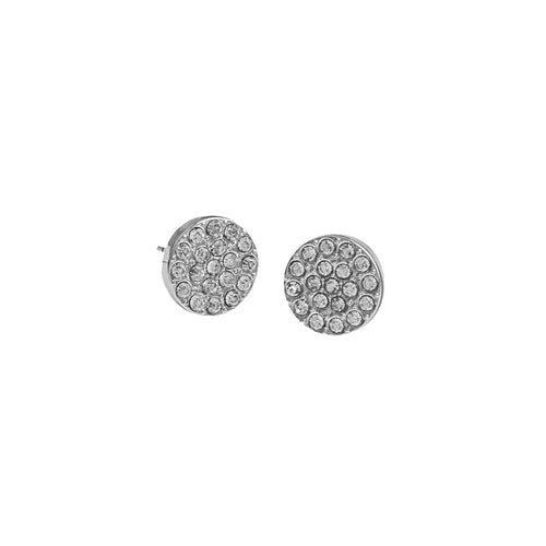 SNÖ OF SWEDEN - Spark Small Stone Earring Clear Silver