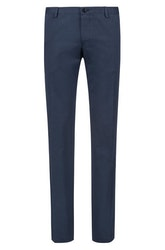 HUGO BOSS - Gerald Stretch Slim Fit Trousers Blå