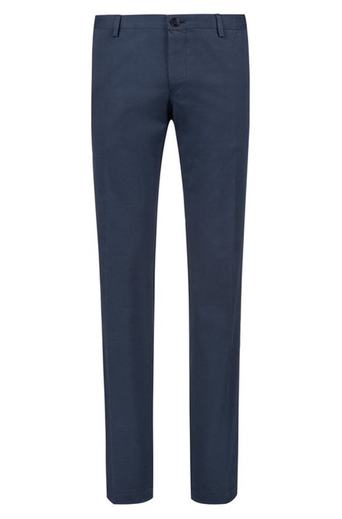 HUGO BOSS - Gerald Stretch Slim Fit Trousers Blå