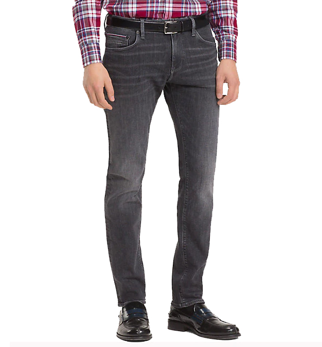 ad3becfc TOMMY HILFIGER - Bleecker Stretch Slim Fit Jeans Gray - Home of Brands