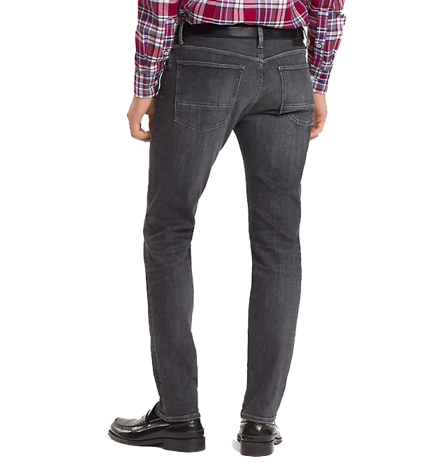 TOMMY HILFIGER - Bleecker Stretch Slim Fit Jeans Grå