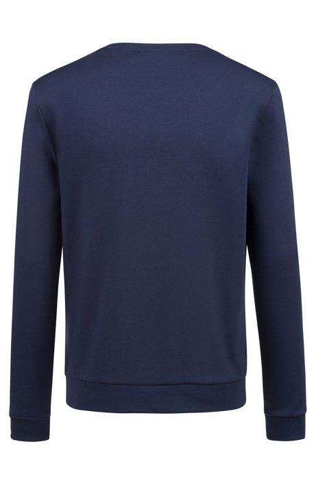 HUGO BOSS - Dicago Crewneck Reverse Logo Sweatshirt Blå