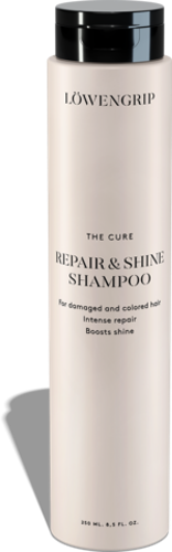 LÖWENGRIP CARE & COLOR - The Cure Repair And Shine Shampoo 200ml