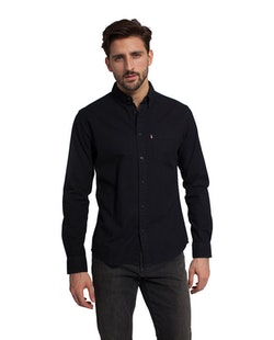 LEXINGTON - Kyle Oxford Shirt Svart