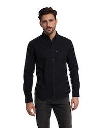 LEXINGTON - Kyle Oxford Shirt Svart