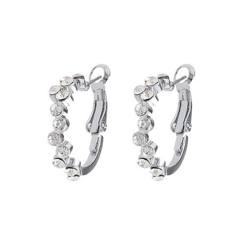 SNÖ OF SWEDEN - Kairo Ring Earring Silver