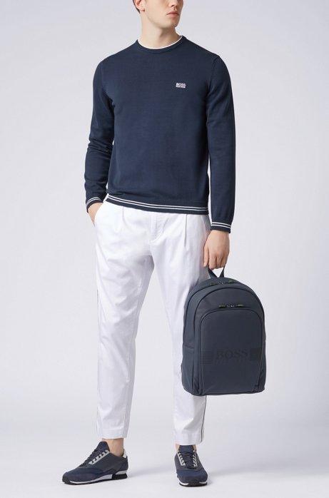 HUGO BOSS - Rime Round Neck Sweater Blå
