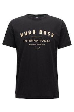HUGO BOSS - Tee 1 Crew Neck T-shirt Svart