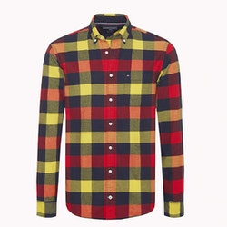 TOMMY HILFIGER - Buffalo Check Flannel Shirt Mönstrad