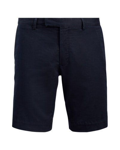 POLO RALPH LAUREN - Flat Short Slim Fit Blå