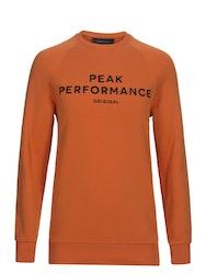 PEAK PEFORMANCE - Original Rundhalsad Tröja Orange