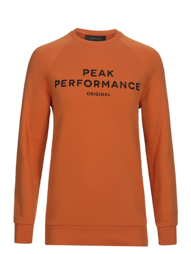 PEAK PEFORMANCE - Original Rundhalsad Tröja Orange