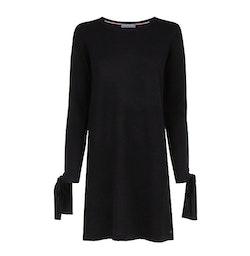 TOMMY HILFIGER - Tarisa Bow Sleeve Jumper Dress Svart