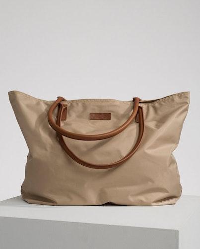 LEXINGTON - Mayflower Nylon Tote Bag Beige