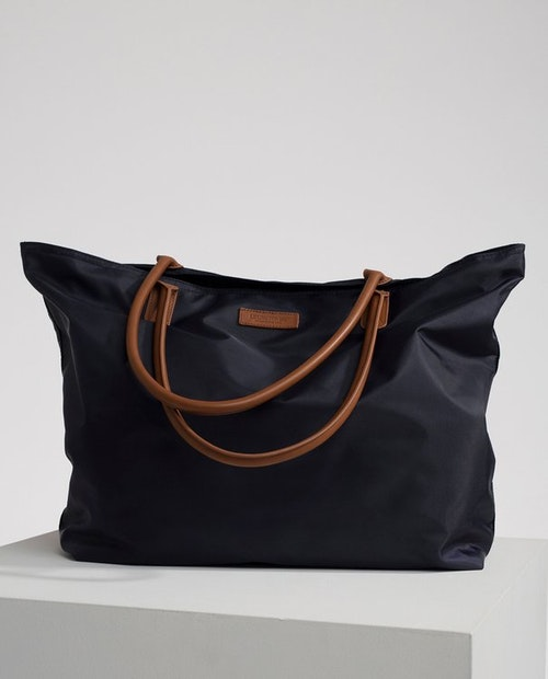 LEXINGTON - Mayflower Nylon Tote Bag Blå