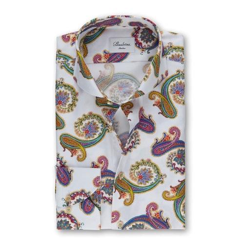 STENSTRÖMS - Paisley Slimline Shirt Mönstrad