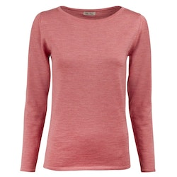 STENSTRÖMS - Knit Boat Neck Sweater Rosa