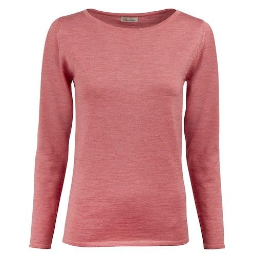STENSTRÖMS - Knit Boat Neck Sweater Rosa