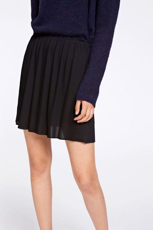 SAMSOE SAMSOE - Lei Skirt 6621 Svart