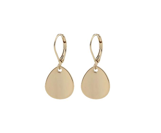 SNÖ OF SWEDEN - Avery Short Earring Guld