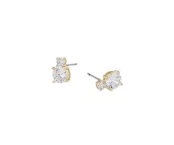 SNÖ OF SWEDEN - Duo Earring Guld