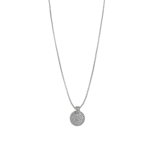 SNÖ OF SWEDEN - Carrie Pendant Necklace Silver