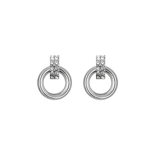 SNÖ OF SWEDEN - Adara Small Earring Silver