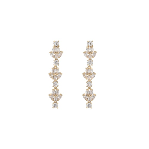 SNÖ OF SWEDEN - Kathy Long Earring Guld