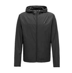 HUGO BOSS - Jeltech Lightweight Water-Repellent Hooded Jacket Svart