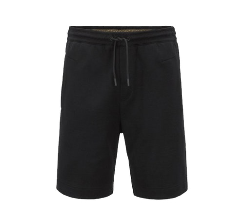 HUGO BOSS - Gold Logo Shorts Svart