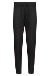HUGO BOSS - Daky Jogging Trousers Logo Tape Svart