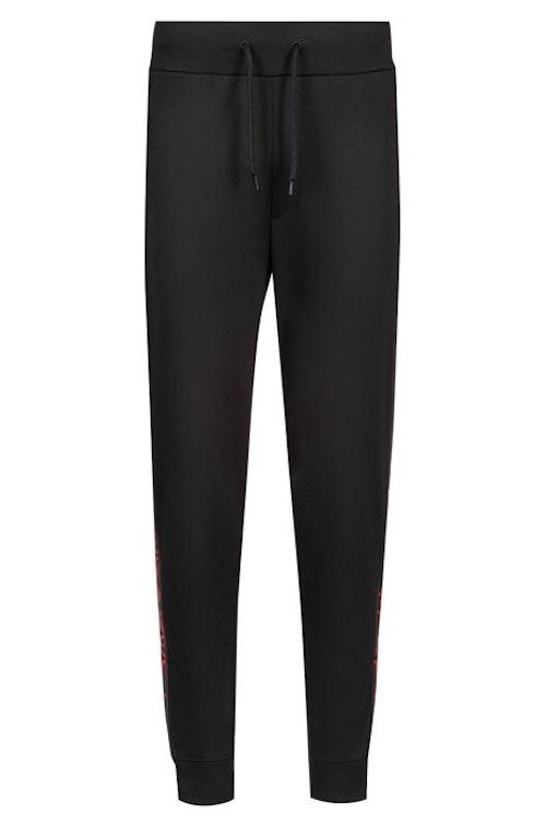 HUGO BOSS - Daky Jogging Trousers Logo Tape Svart