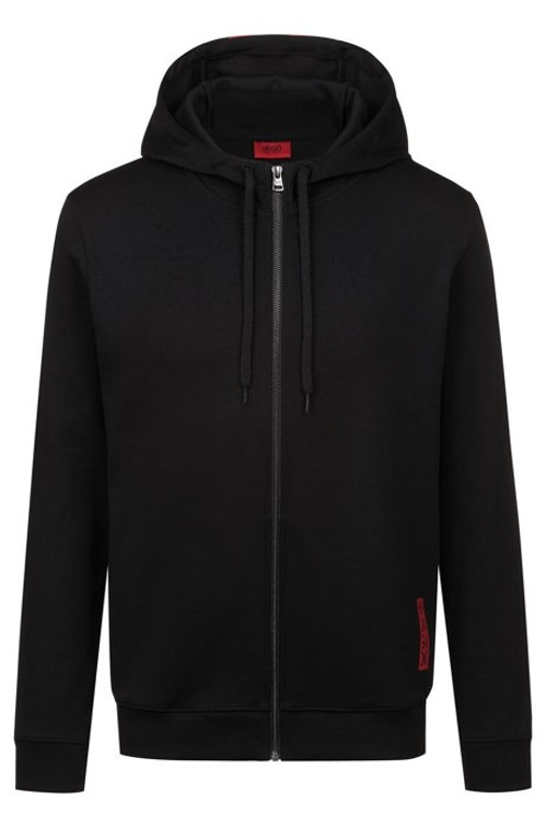 HUGO BOSS - Dondy Hooded Sweatshirt Svart