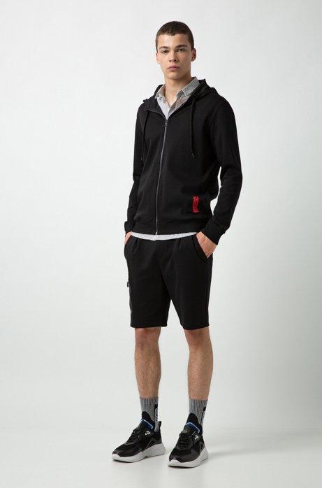 HUGO BOSS - Dondy Hooded Sweatshirt Svart