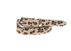 SADDLER - Bälte Beige/Leopard
