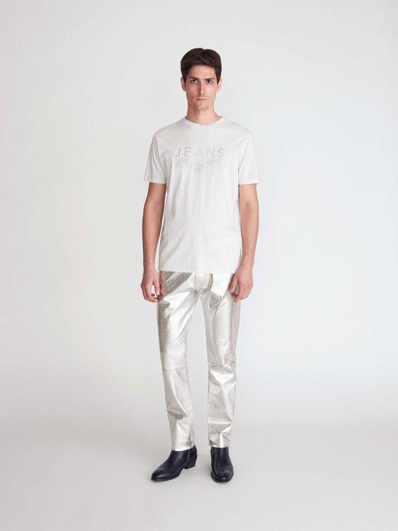 TIGER OF SWEDEN - Fleek PR T-Shirt Vit/Beige