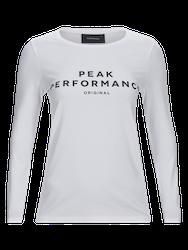 PEAK PERFORMANCE - Original långärmad tröja Vit